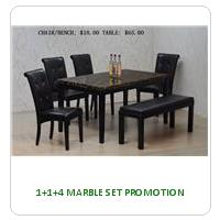 1+1+4 MARBLE SET PROMOTION